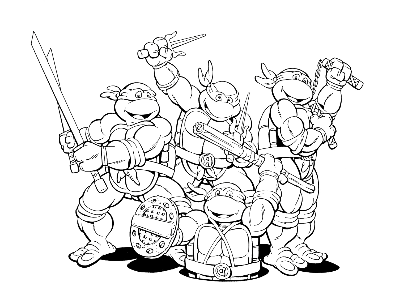 ninja turtles coloring pages printable ninja coloring pages at getcoloringscom free printable printable coloring turtles ninja pages