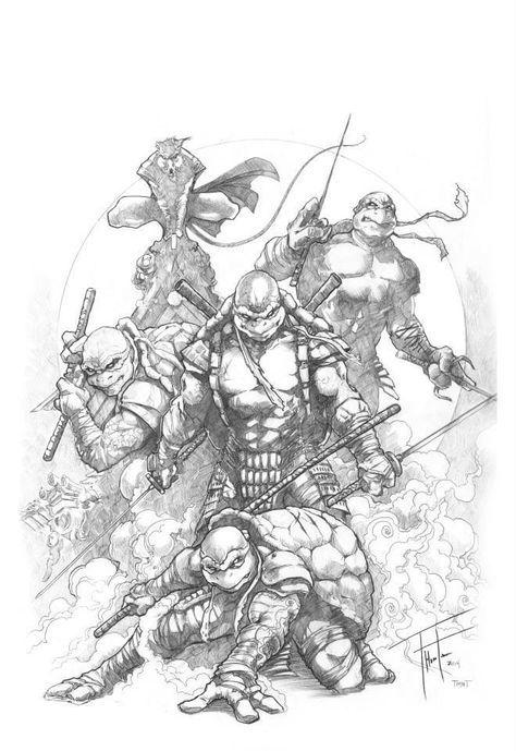 ninja turtles pictures teenage mutant ninja turtles by rod thornton aj pictures turtles ninja