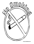 no smoking coloring pages my e portfolio health education pages smoking coloring no