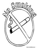 no smoking coloring pages my e portfolio health education pages smoking coloring no