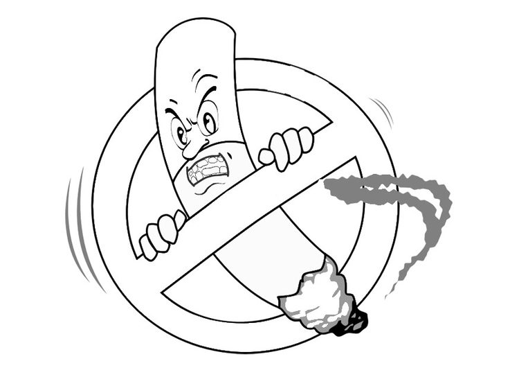 no smoking coloring pages no smoking outline clipart etc pages coloring no smoking