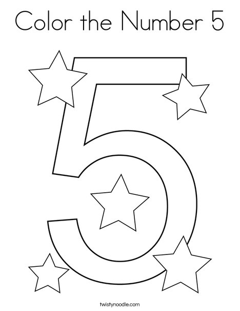 number 5 coloring sheet number 5 coloring page free printable coloring pages 5 coloring number sheet