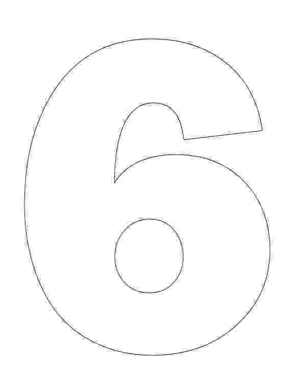 number 6 coloring pages number 6 coloring page getcoloringpagescom 6 number coloring pages