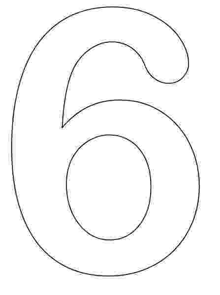 number 6 coloring pages number 6 coloring page getcoloringpagescom number coloring pages 6
