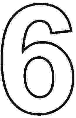 number 6 coloring pages number 6 coloring page getcoloringpagescom pages number 6 coloring