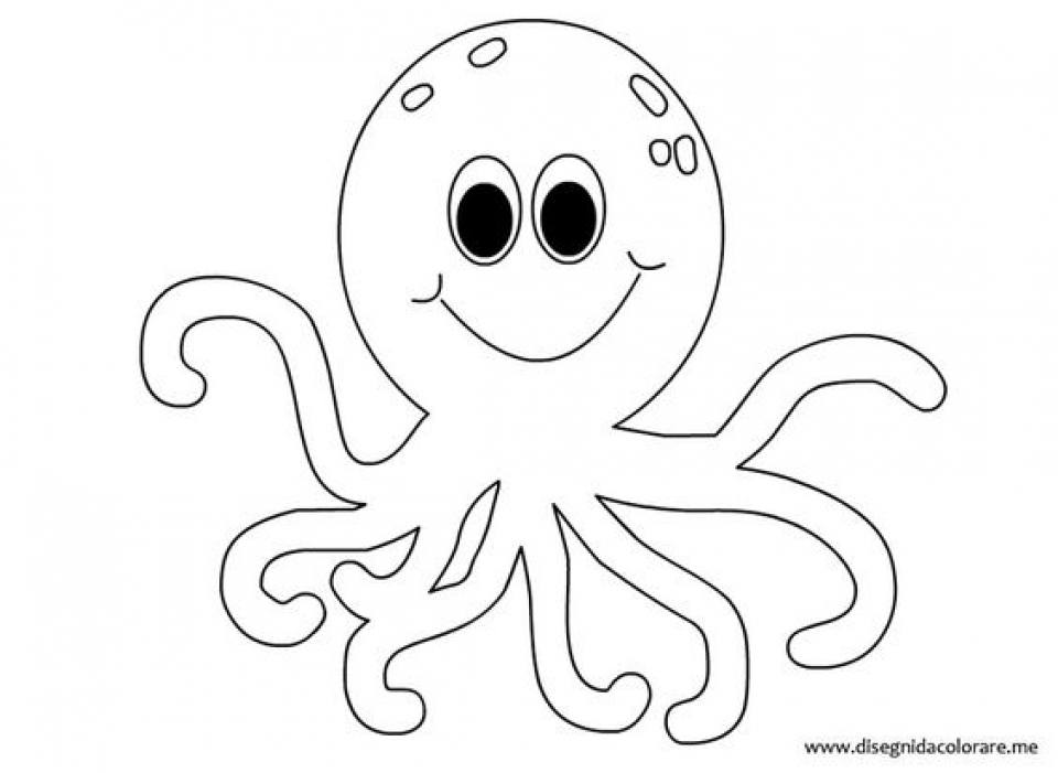 octopus color page free printable octopus coloring pages for kids page color octopus