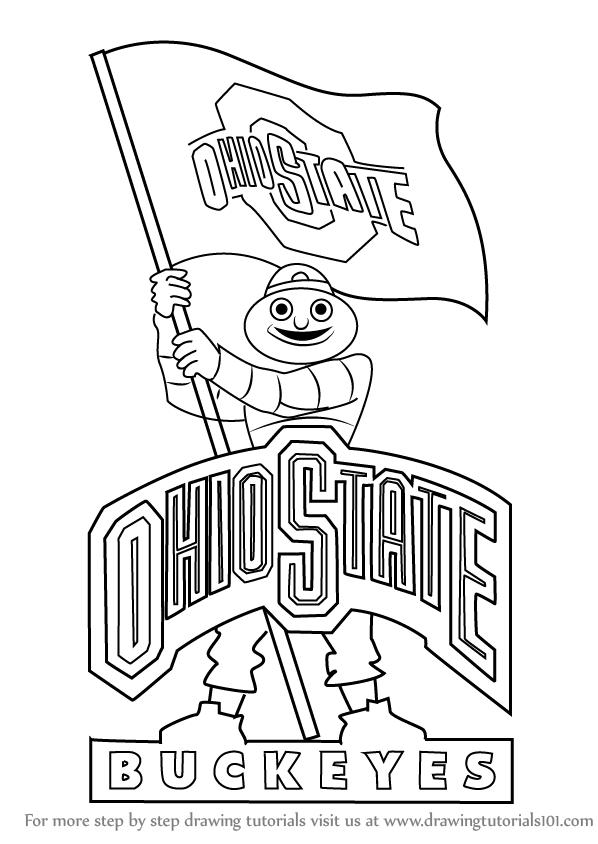 ohio state tree coloring page buckeye tree coloring tree ohio history tree coloring coloring state tree page ohio