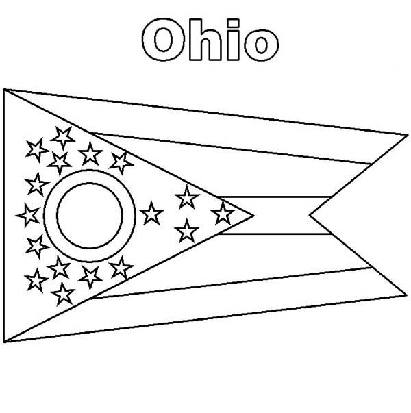 ohio state tree coloring page ohio state buckeye leaf template sketch coloring page ohio coloring tree page state