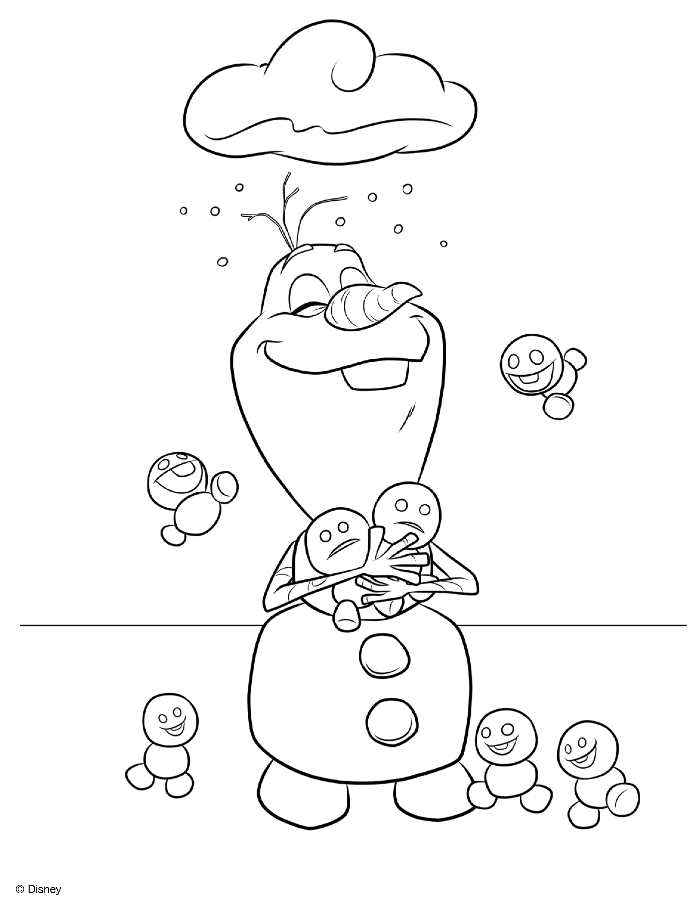 olaf coloring page cute olaf frozen coloring pages easy frozen olaf page coloring olaf