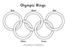 olympic rings to color 212 best images about coloring pages on pinterest color olympic to rings