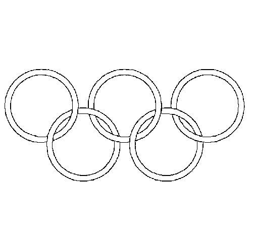 olympic rings to color college sports coloring pages learny kids olympic color rings to