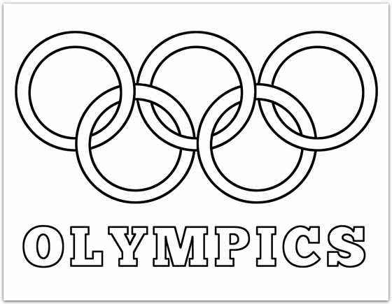 olympic rings to color ibms newsletter olympic rings color to