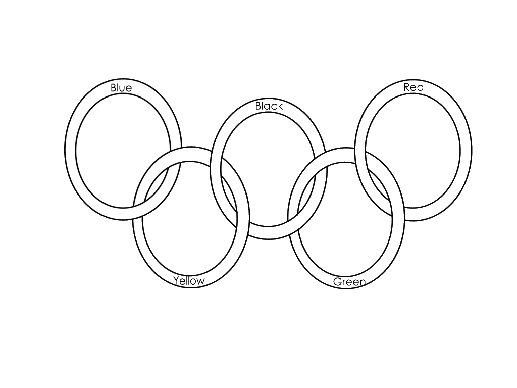 olympic rings to color olympic coloring pages vancouver 2010 color to rings olympic