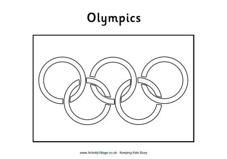 olympic rings to color olympic flag colouring pages free printable pages to color rings olympic to