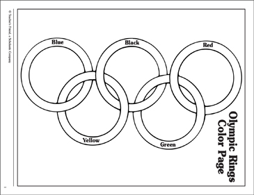 olympic rings to color olympic ring coloring pages olympic rings to color