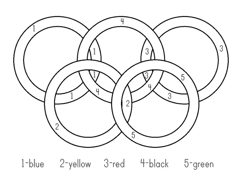 olympic rings to color olympic rings coloring page printable coloring pages color to olympic rings