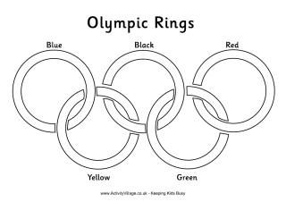 olympic rings to color olympics lessons on pinterest 48 pins olympic rings to color