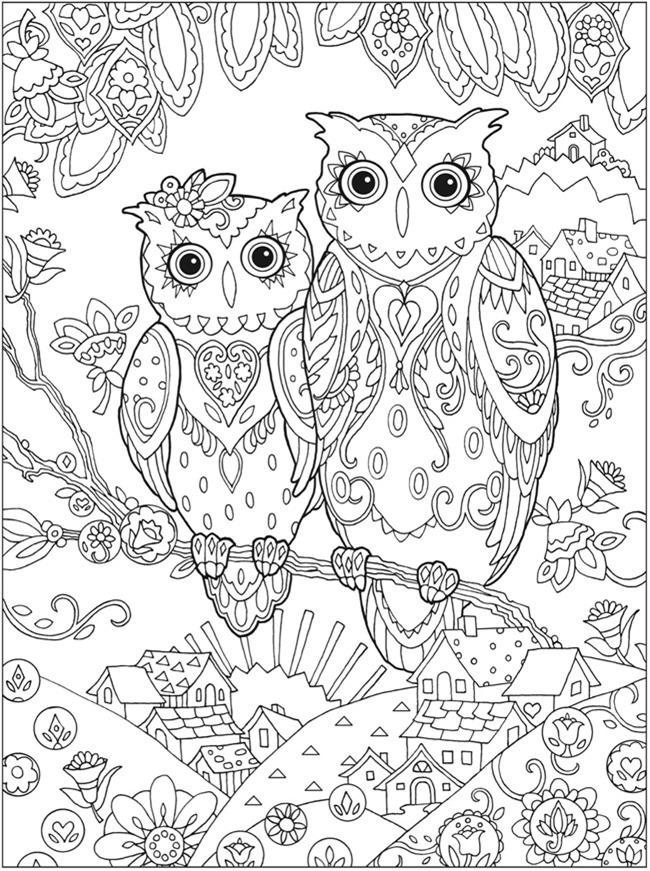 owl coloring page adult owl coloring page getcoloringpagescom page owl coloring