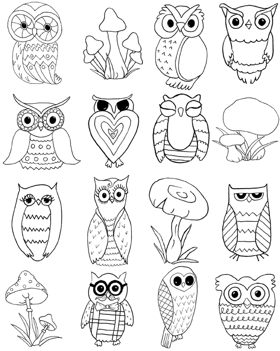 owl coloring page owl with rose coloring page free printable coloring pages page owl coloring