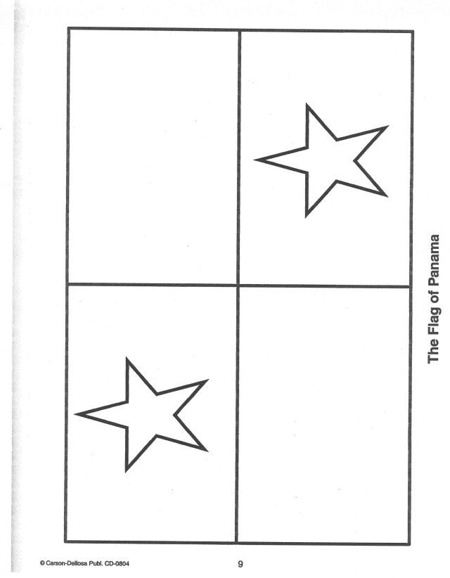 panama flag coloring page 12 best images about panama flag on pinterest samsung coloring flag panama page