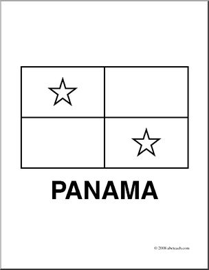 panama flag coloring page clip art flags panama coloring page abcteach page coloring flag panama