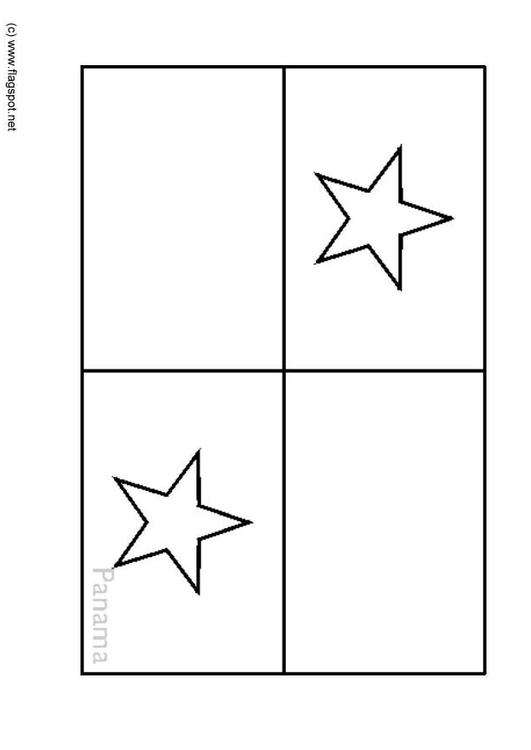 panama flag coloring page coloring page flag panama img 6359 coloring page panama flag