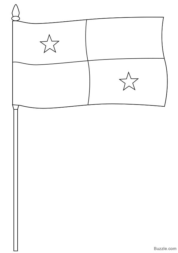panama flag coloring page panama flag coloring page clipartsco page flag panama coloring