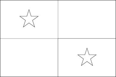 panama flag coloring page panama flag flag of panama flag coloring page panama