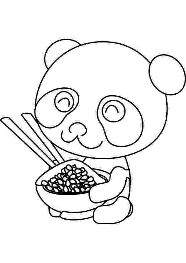 panda bear coloring pictures panda eating bamboo drawing at getdrawingscom free for pictures coloring panda bear