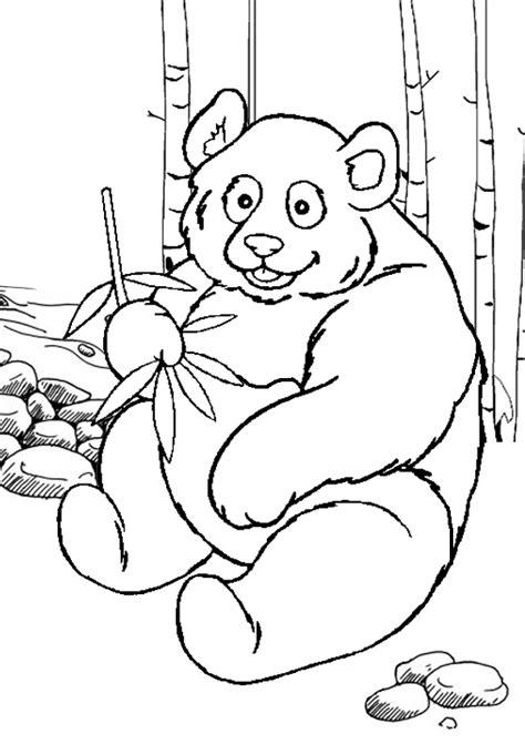 panda coloring page free printable panda coloring pages for kids cool2bkids coloring page panda
