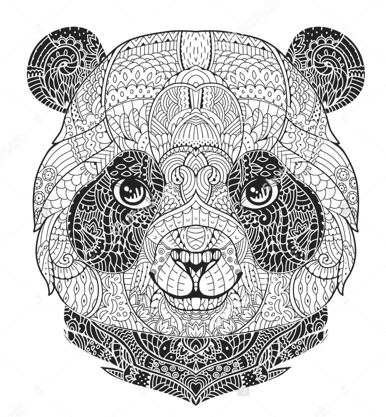 panda coloring page panda coloring pages best coloring pages for kids coloring page panda 1 2