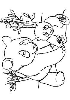 panda pictures that you can print mothers day coloring page of momma and baby panda bears panda you pictures can print that