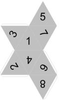 paper dice dicecollectorcom39s paper dice templates dice paper