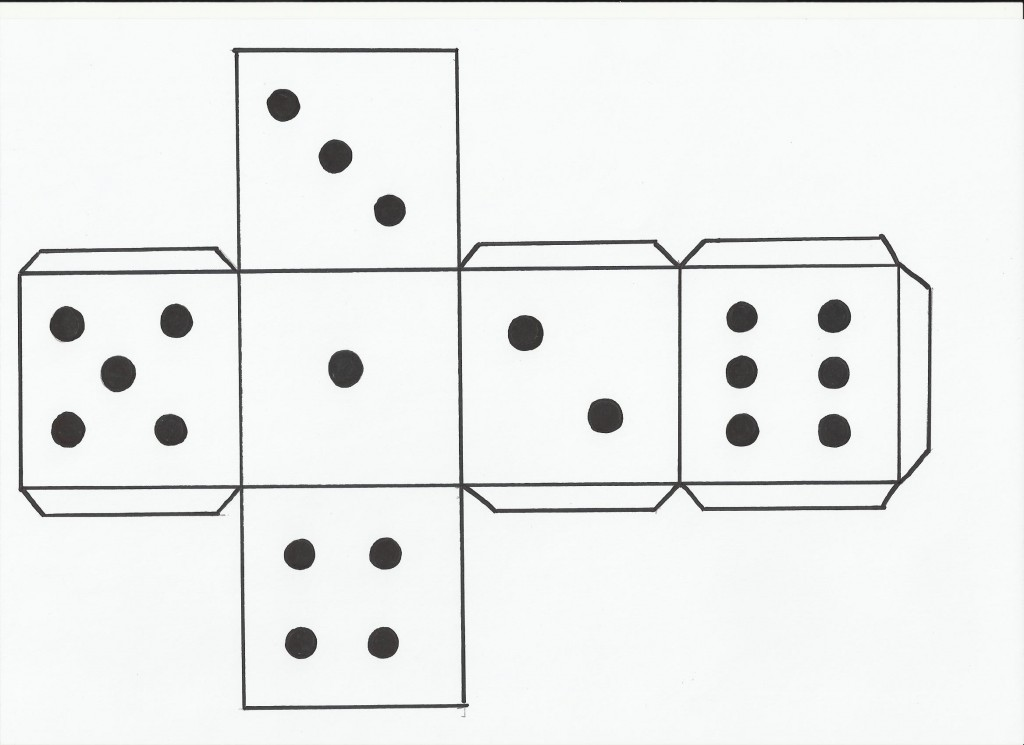 paper dice how to make a dice hubpages paper dice