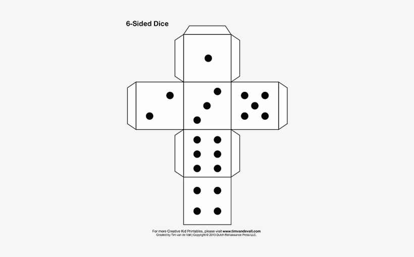 paper dice printable paper dice printable paper dice template free transparent png download paper dice