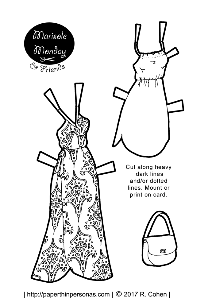 paper dressing up dolls marisole monday friends archives paper thin personas up dressing paper dolls