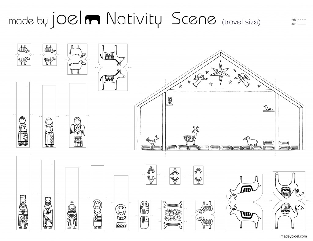 paper nativity scene cut out nativity cut out patterns plans diy free download toy box nativity paper out scene cut