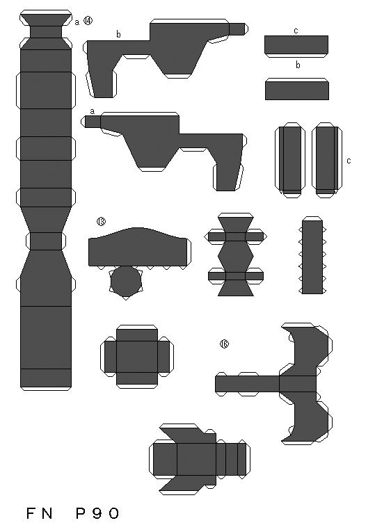 papercrafts papercrafts de armas arte taringa papercrafts