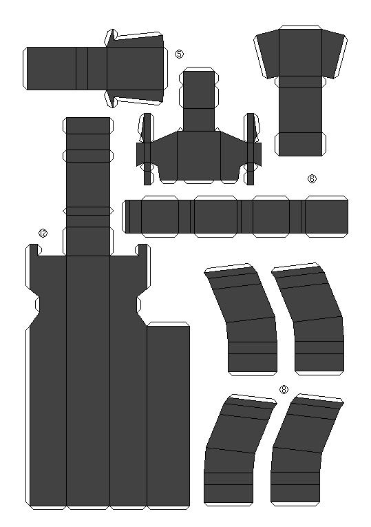 papercrafts papercrafts de armas arte taringa papercrafts 1 1