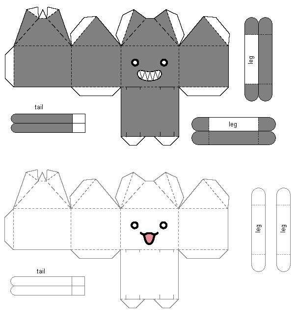 papercrafts papercrafts gatos papercrafts papercrafts