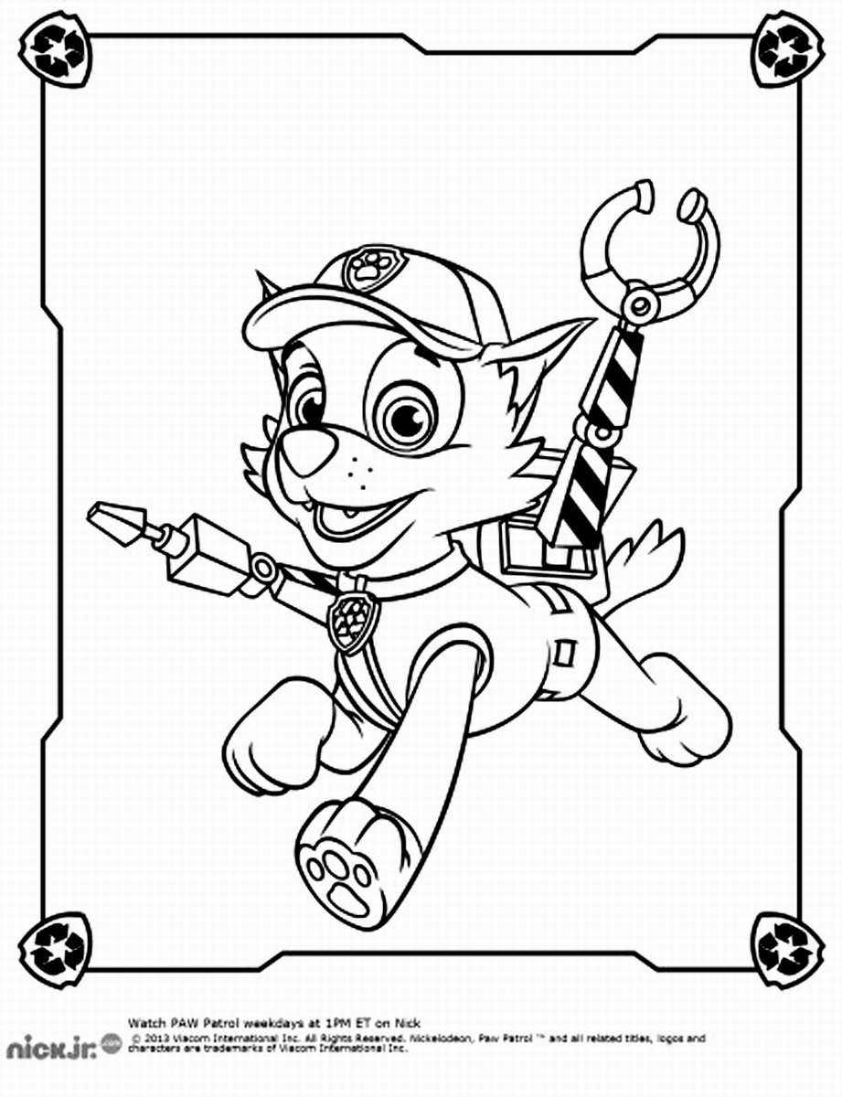 paw patrol coloring page paw patrol coloring pages free download on clipartmag paw patrol page coloring