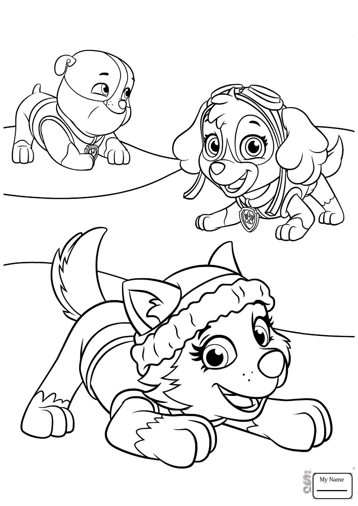 paw patrol coloring page paw patrol coloring pages marshall and firetruck coloring paw page patrol