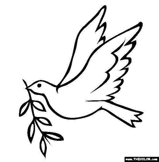 peace dove coloring page peace dove on nape of neck top of my totem pole dove coloring page peace dove