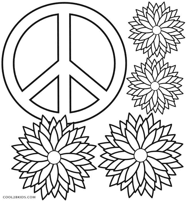 peace sign coloring page ausmalbilder für kinder malvorlagen und malbuch peace peace sign page coloring
