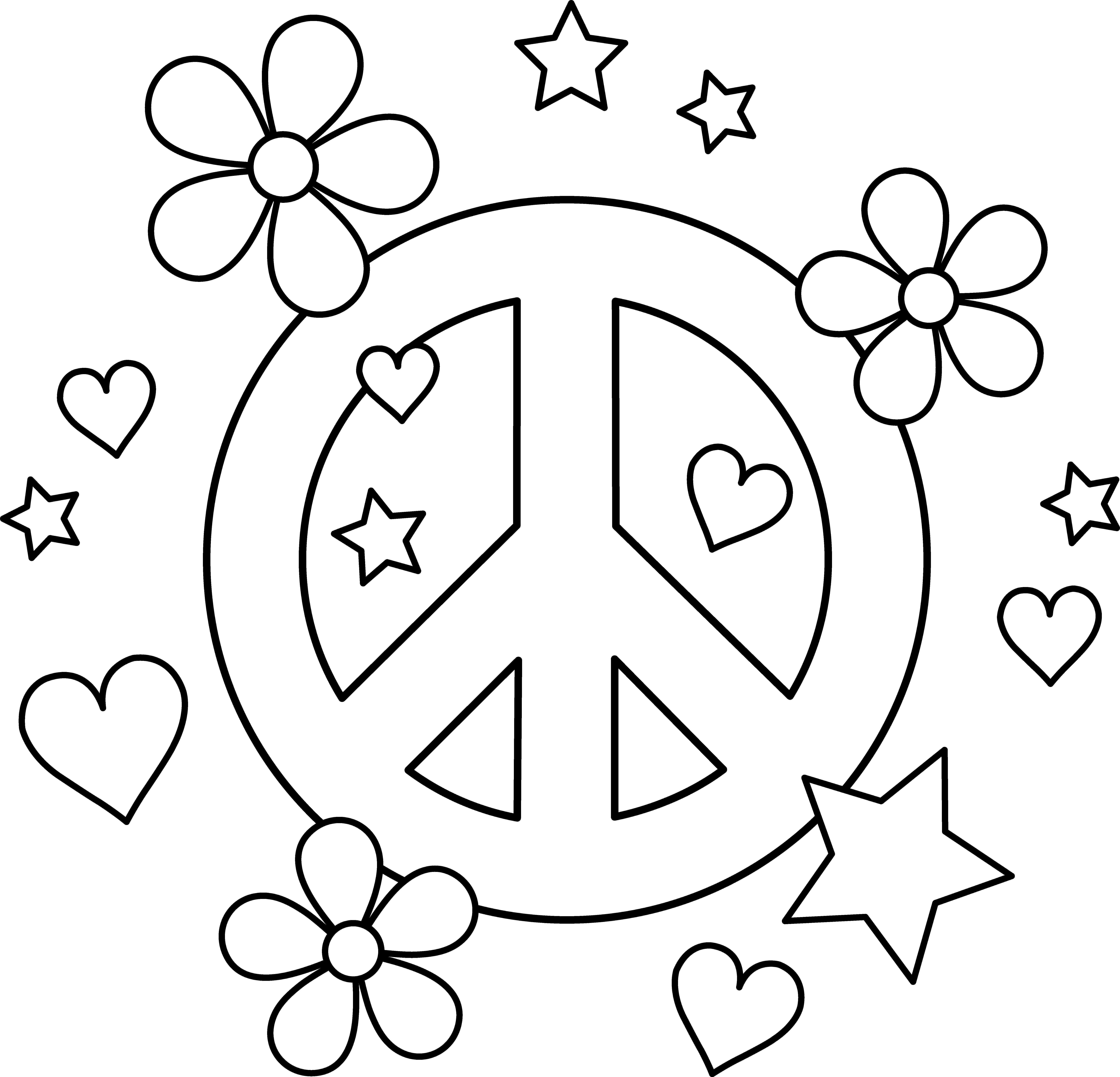 peace sign coloring page coloring pages of peace signs coloring home peace day sign peace page coloring