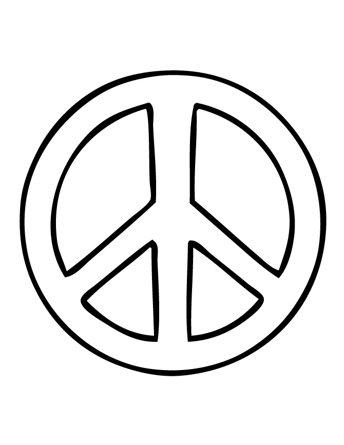 peace sign coloring page free printable peace sign coloring pages cool2bkids page peace coloring sign