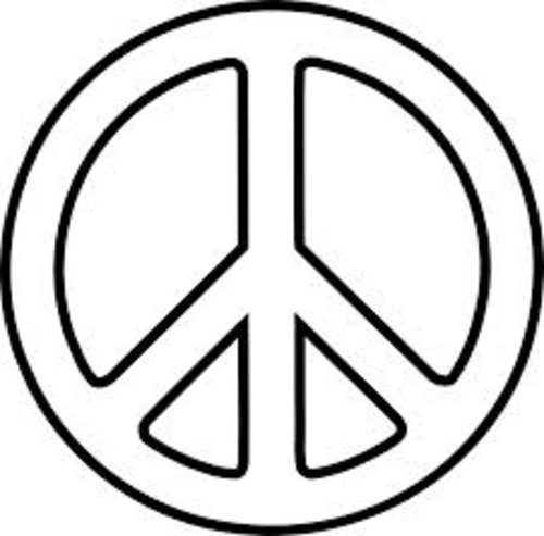 peace sign coloring page free printable peace sign coloring pages cool2bkids page sign peace coloring