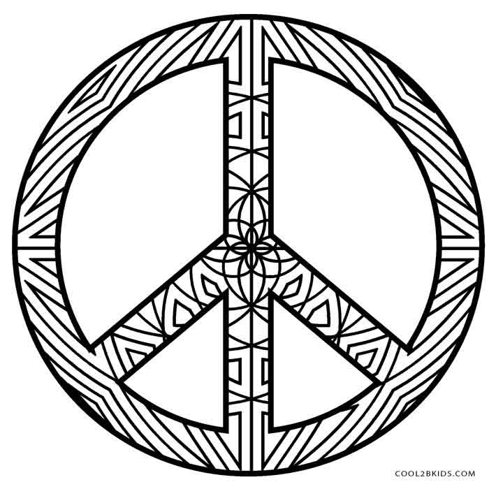 peace sign coloring page free printable peace sign coloring pages cool2bkids peace coloring sign page