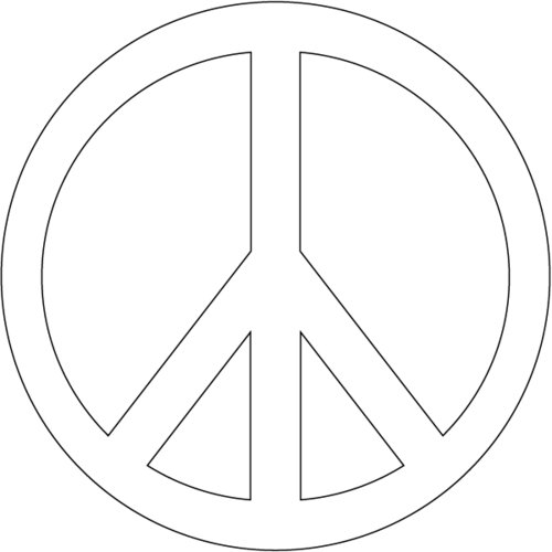peace sign coloring page free printable peace sign coloring pages cool2bkids sign coloring peace page