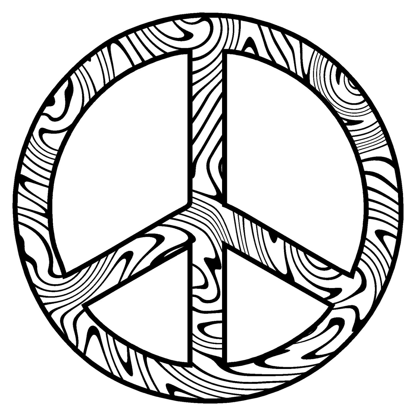 peace sign coloring page free printable peace sign coloring pages gtgt disney page peace coloring sign